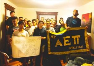c/o AEπ Fraternity