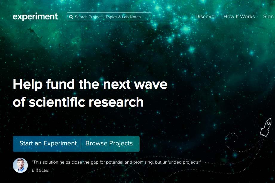 c/o experiment.com