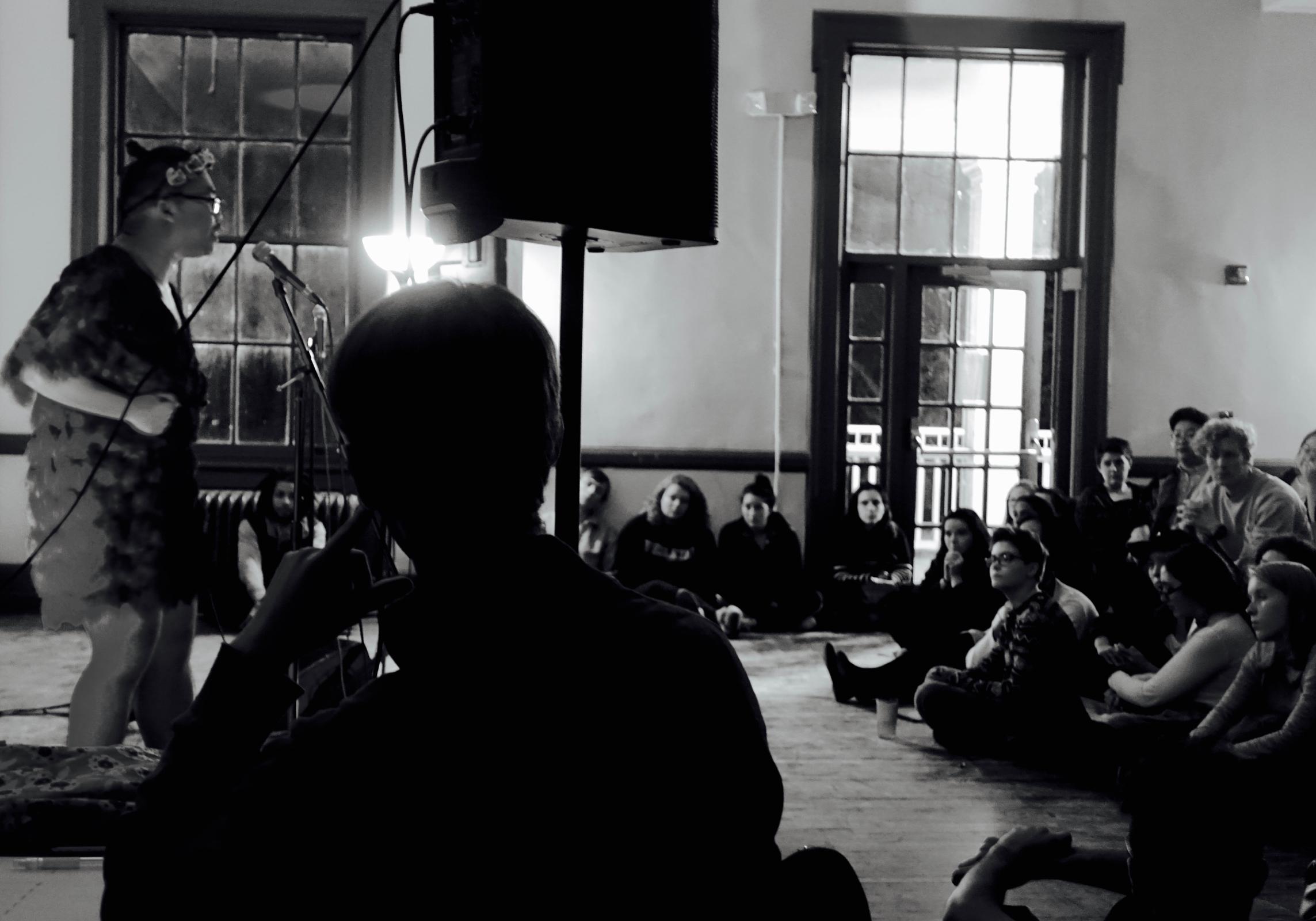 Guest poet Paul Tran slams and discusses the art form, Emmet Teran, Arts Editor