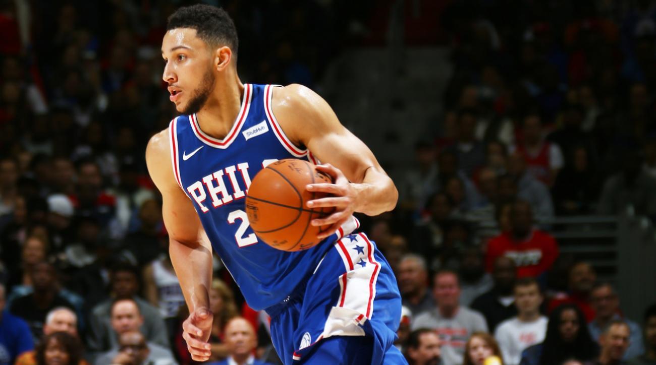 Ben Simmons. c/o NBA