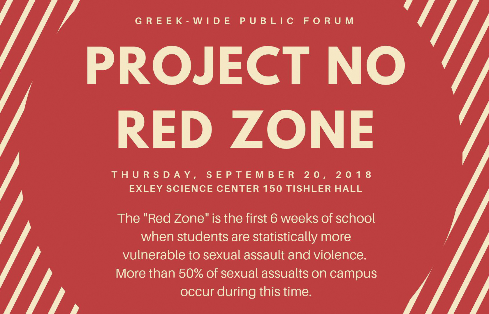c/o Project No Red Zone