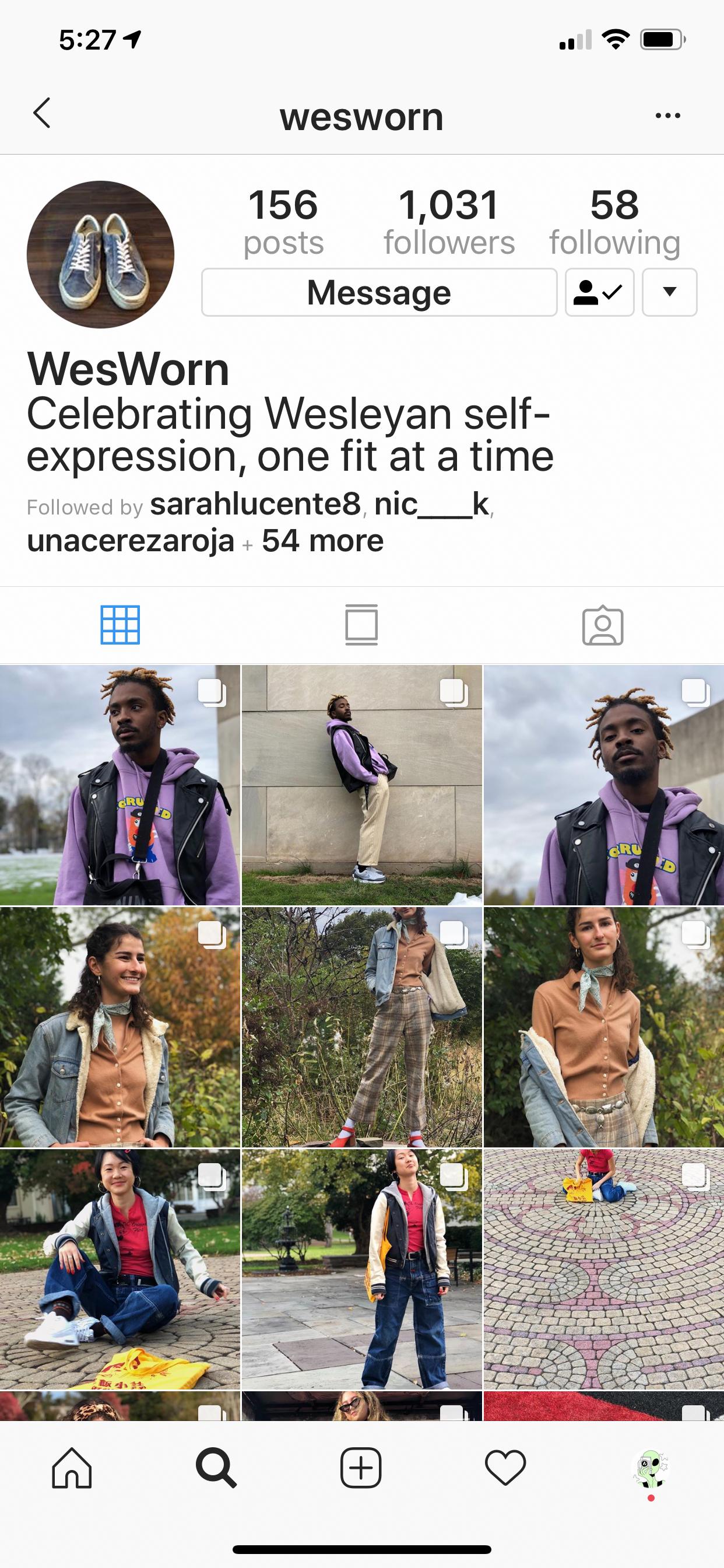 c/o instagram.com/WesWorn
