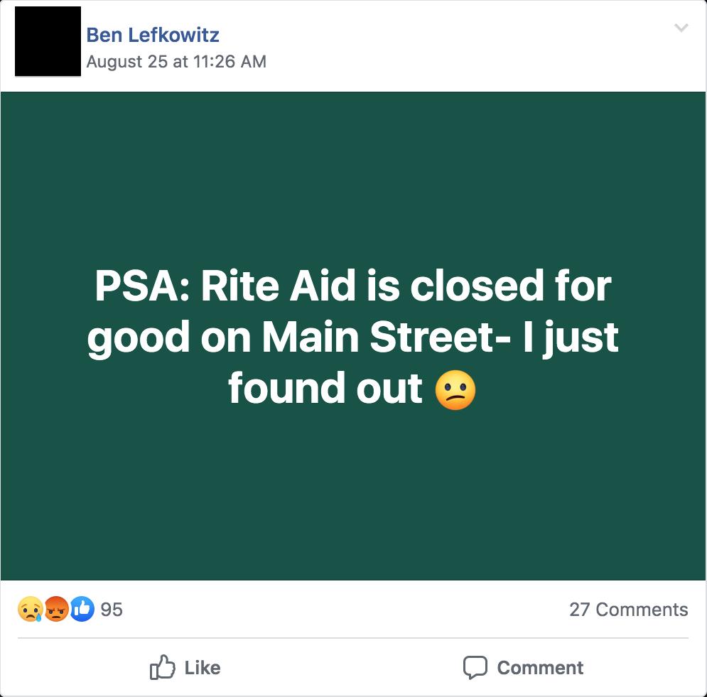 RiteAid_Facebook_post