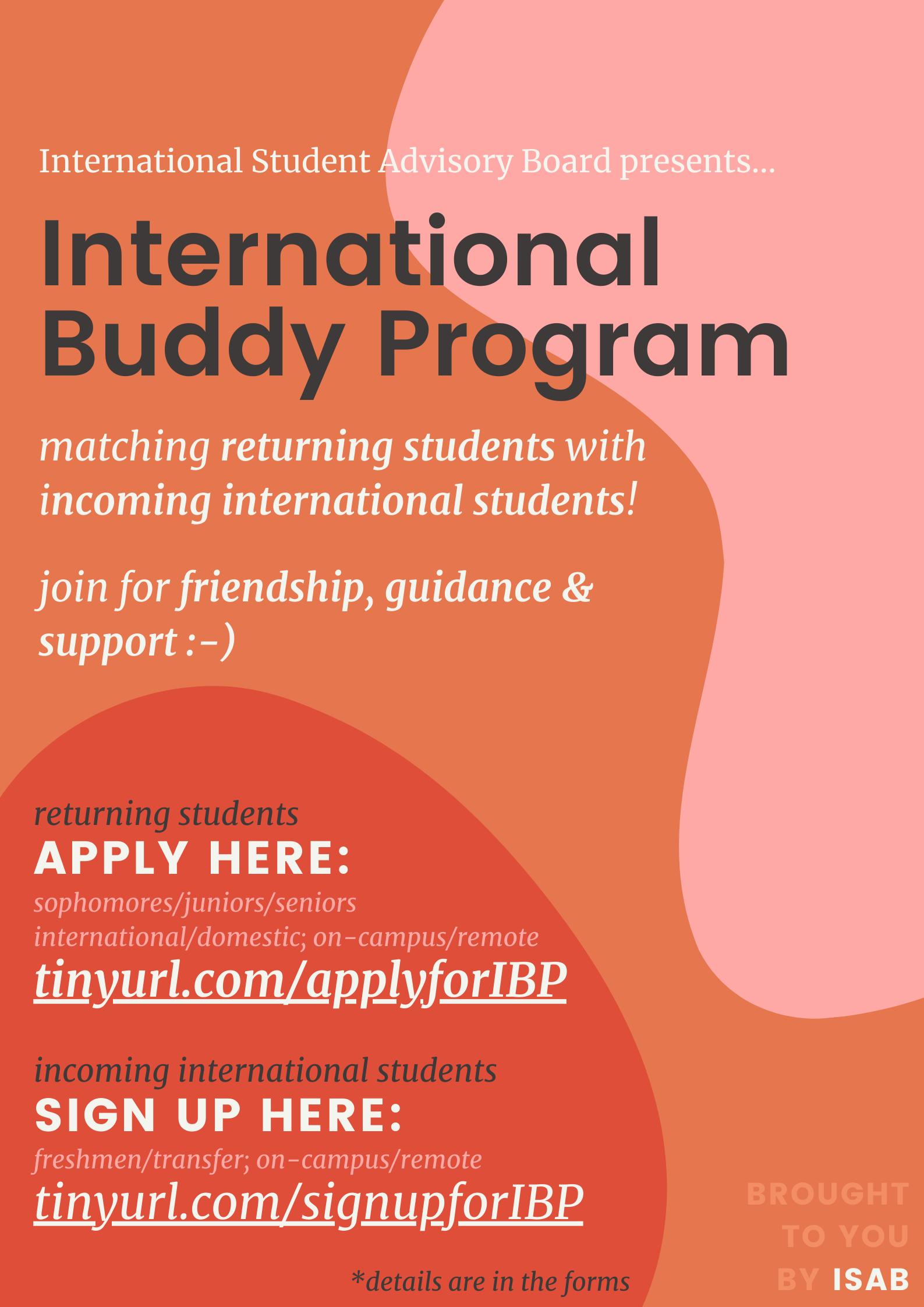 c/o Office of International Student Affairs