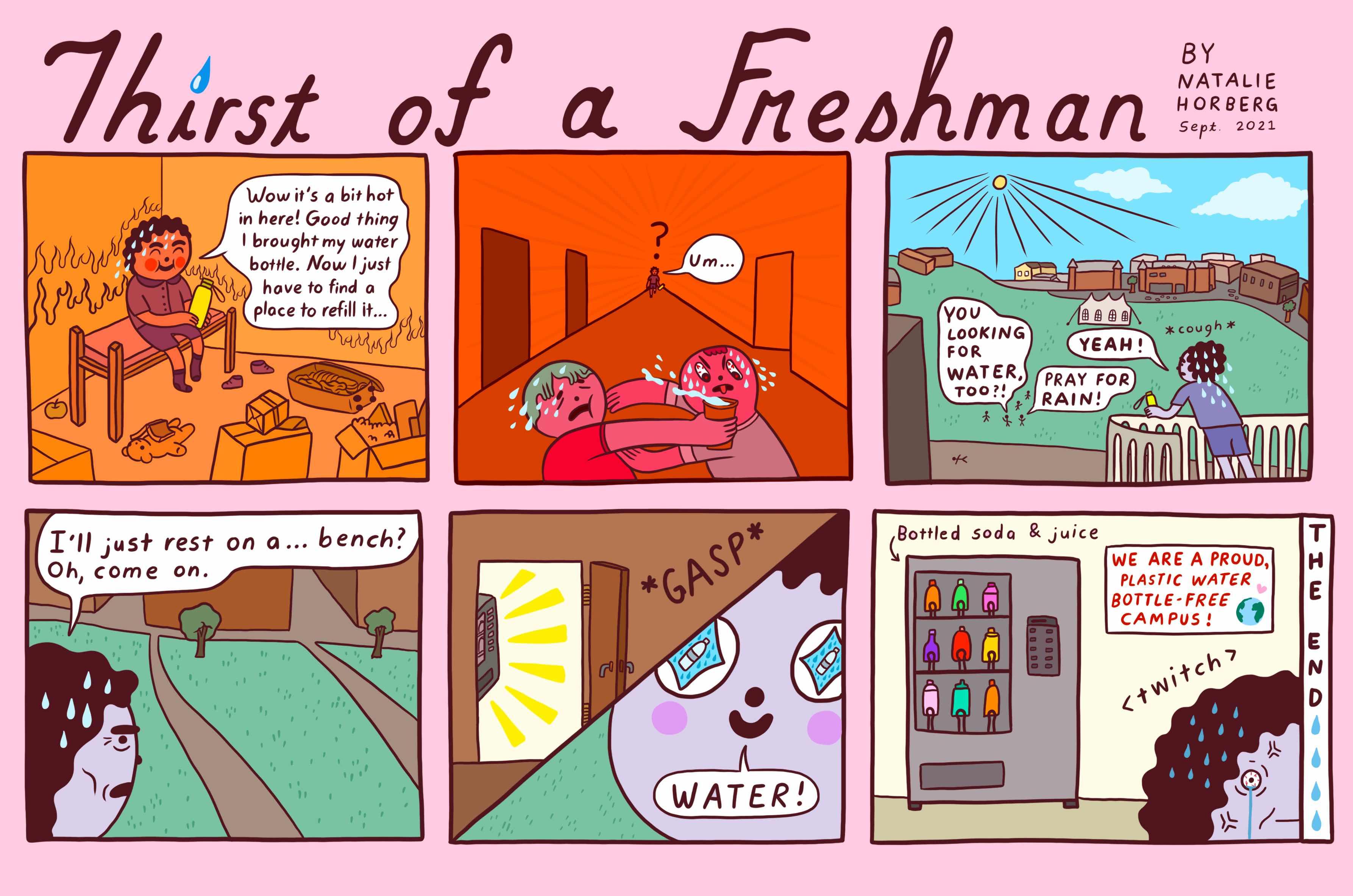 c/o Natalie Horberg, Contributing Cartoonist